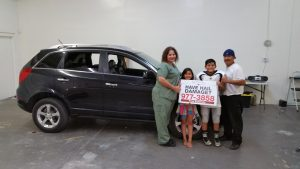 family and Tucson Arizona dent repair