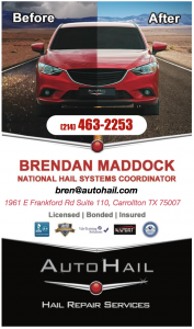 Hebron Hail Repair Brendan Maddock